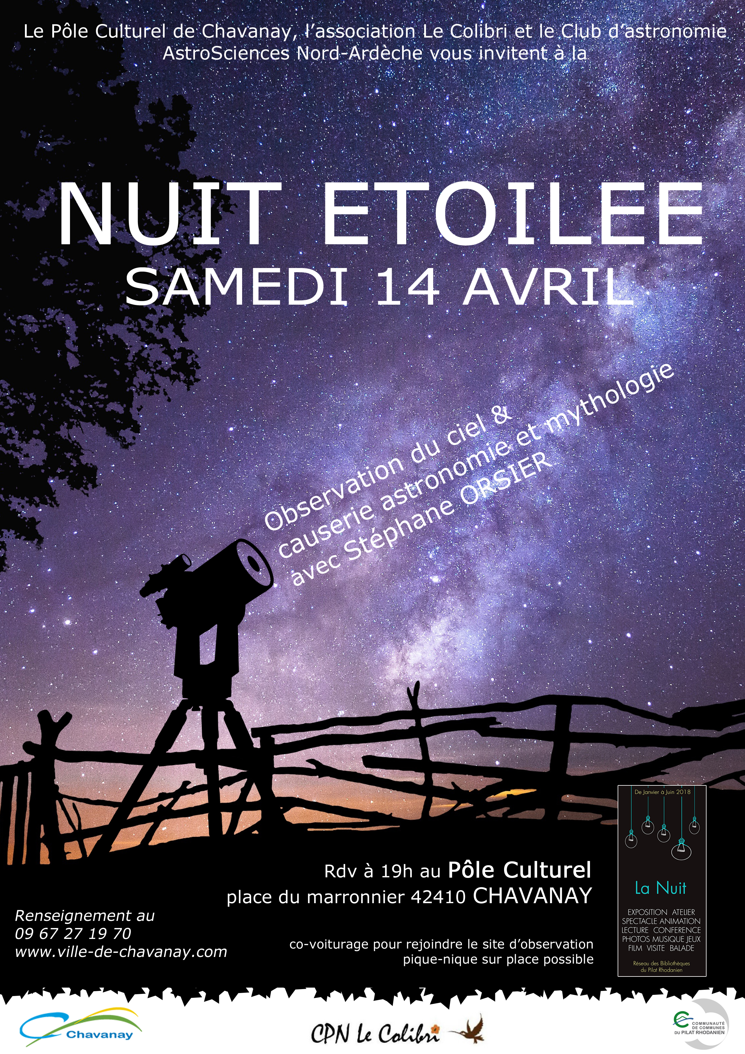 affiche nuit chavanay