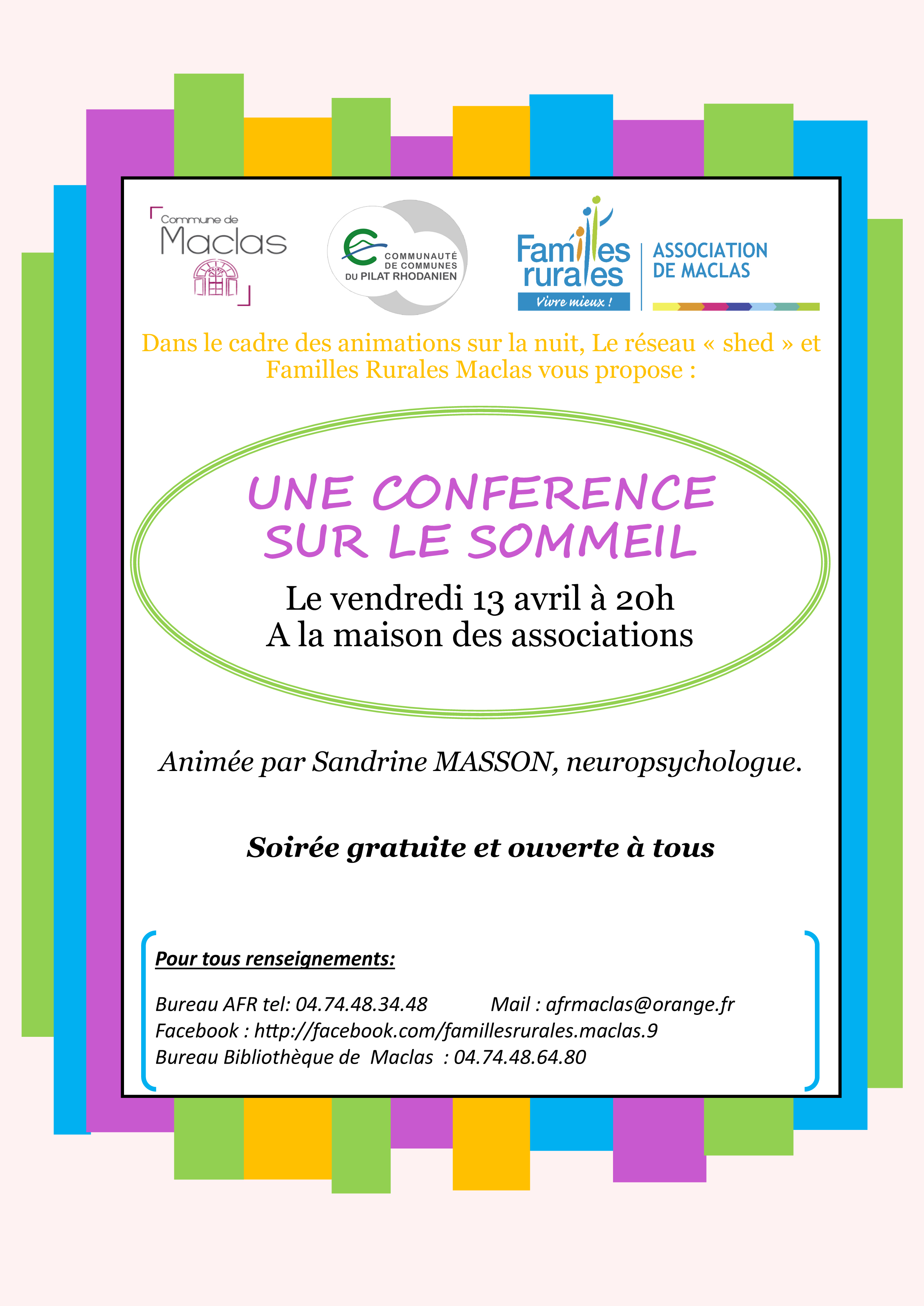 confrence sommeil